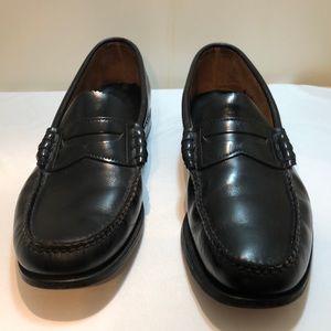 Black Dexter Penny Loafers Size 9.5
